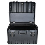 "Jensen Tools 910-2TB2227 Roto Rugged HD Wheeled Case 10"" Deep"