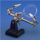 Aven 26000  DOUBLE CLAMP WITH STAND AND MAGNIFIER AVEN