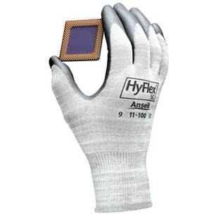 Ansell-Edmont 11-100 HyFlex® Static Control Assembly Gloves, Large, 12 Pairs/Pkg.