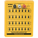 Extech 380400 Resistance Decade Box, 1% Resistance substitution from 1 to 11,111,110
