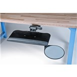 "Lista 8451 Keyboard Holder with Mouse Tray, 21"" L x 10"" W"