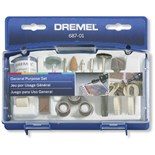 Dremel 687-01 General Purpose Rotary Tool Accessory Kit With Case