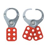 "Masterlock 421 1-1/2"" RED LOCKOUT HASP MASTERLOCK"
