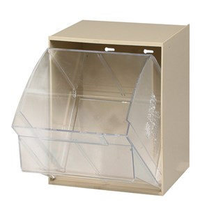 Quantum Storage Systems QTB306CUP Replacement Tip Out Bin Clear Cup