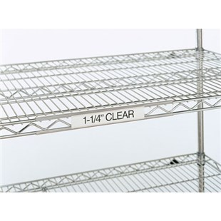 """Metro 9990CL Clear Label Holder, 3"""" x 1-1/4"""""""