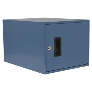 "IAC Industries QS-1050005-BL IAC Locker Single Workmaster 12"" Deep No Lock EZE BL"