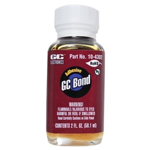 GC Waldom GC Bond General Purpose Adhesive / Cement, 2 oz. Bottle