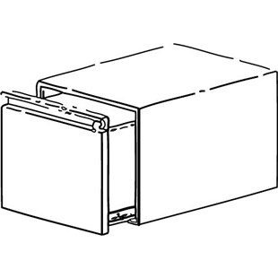 "Production Basics 8611 12"" Drawer for RTW Series"