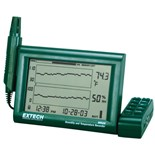Extech RH520A-NIST Humidity + Temperature Graphical Chart Recorder w/ Certificate of Calibration