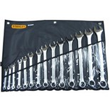Stanley 85-990 Combination Wrench Set SAE, 14 pc