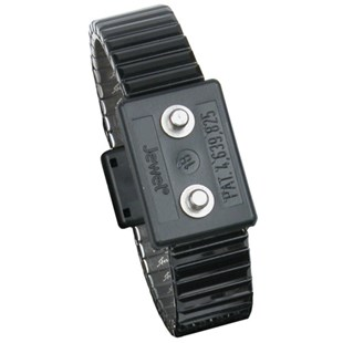 Desco 19840 Large Jewel® Premium Metal Expansion Dual Wire Wrist Strap