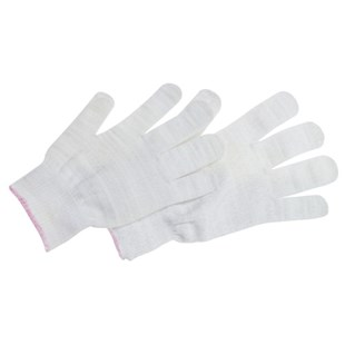 QRP KAS Knit-Stat™ Anti-Static Inspection Gloves, Large, 12 Pairs/Bag