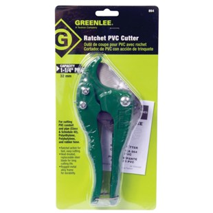 "Greenlee Communications 864 PVC CUTTER FOR 1-1/4"" PVC GREENLEE"