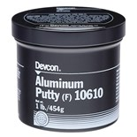 Devcon 10610 Aluminum Putty (F), 1 lb.