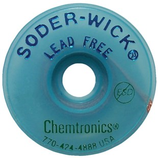 "Chemtronics 40-4-10 Lead Free Wick, .110"" 10ft Roll"
