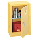 """Lyon R5473 Flammable Liquid Safety Cabinets with One Shelf, 23-1/4"""" W x 18"""" D x 35"""" H"""