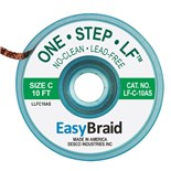EasyBraid LF-C-10AS LEA-FREE WICK EASY BRAID