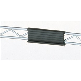 "Metro 9990PESD ESD-Safe Label Holder For Wire Shelves, 3"" L"