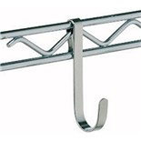 "Metro HK23C Small Chrome Hook, 1/4"" x 3-1/2"""