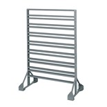 Akro-Mils 30016 Two-Sided Rail Bin Rack
