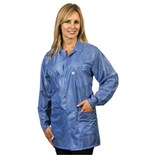 Tech Wear LOJ-23-XL ESD-Safe Shielding Jacket, Blue, X-Large