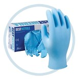 Showa 7500PF General Purpose Nitrile Gloves, Powder Free, 4 mil, Large, 100/Box