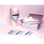 APP0350-BOX Tie-on Face Mask, Blue - 50/Box
