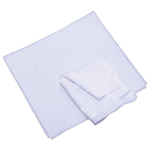 "CRP0665-12 Polyester ESD-Safe Wipes, 12"" x 12"", 75/Pkg"