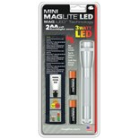 Maglite SP2210H Mini Maglite® 3 Watt LED Flashlight 2 Cell AA with Holster