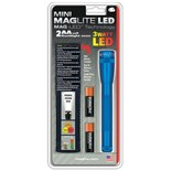 Maglite SP2211H Mini Maglite® 3 Watt LED Flashlight 2 Cell AA with Holster