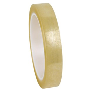 "Desco 79204 Antistatic Cellulose Tape, Clear, 3/4"" W x 72 Yards with 3"" Core"