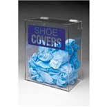 "Brady PD322E Shoe Cover Acrylic Dispenser, 14"" H x 12"" W x 8"" D"