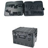 """Jensen Tools 443-454 12"""" Roto Rugged HD case with JTK-87 Pallets"""