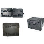 "Jensen Tools 443-456 12"" Deep Roto Rugged HD case with JTK-78 pallets"