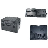 "Jensen Tools 443-457 12"" Deep Roto rugged HD case with JTK-93 pallets"