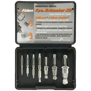 Alden 7017P 7pc Extractor Kit