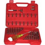 Jensen Tools 24382 100 Bits in a Box with Handle