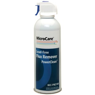 MicroCare MCC-PW210A PowerClean™ Lead-Free Flux Remover, 10 oz Aerosol