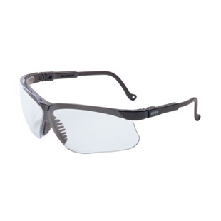 Uvex S3200 Genesis® Safety Glasses with Black Frame & Clear Lens