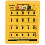 Extech 380405 Capacitance Decade Box, 5% Capacitance substitution from 100pF to 11.111μF