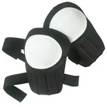 Custom Leather Craft V230 Plastic Cab Knee Pads, Pair