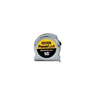 "Stanley 33-516 Powerlock® Tape Measure with Blade Armor™ Coating, 1"" x 16 ft."
