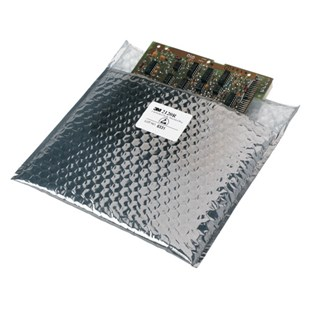 "SCS 21287 Static Shield Cushioned Bags, 8""x7"", 100/Box"