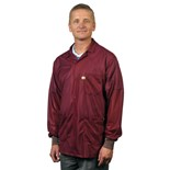 Tech Wear LOJ-33C Groundable ESD-Safe Jacket with Cuffs, Small