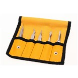 Aven 18473 5-PC TWEEZER SET AVEN TOOLS
