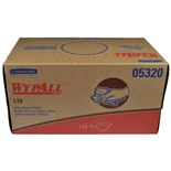Kimberly-Clark 05320 WypAll® L10 Utility Wipers, 125 Wipers/Box
