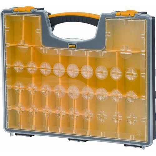 Stanley 014725r Parts Organizer With 25 Compartment
