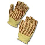 PIP 43-552 Kevlar®/Cotton Blend Hot Mill Gloves with EverGrip™ Nitrile Coating, Large, 1 Dozen/Pairs