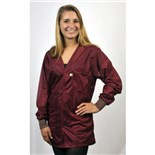 Tech Wear VOJ-33C-L V-Neck ESD-Safe Shielding Jacket, Large