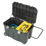 """Stanley 029025R 24 Gallon Mobile Tool Chest 29x18x19"""" Deep"""